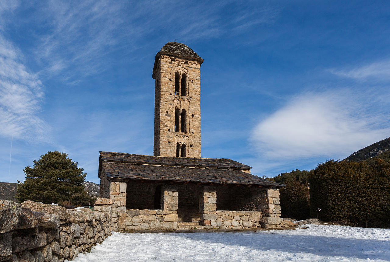 Church of San Miguel de Engolasters de Escaldes-Engordany