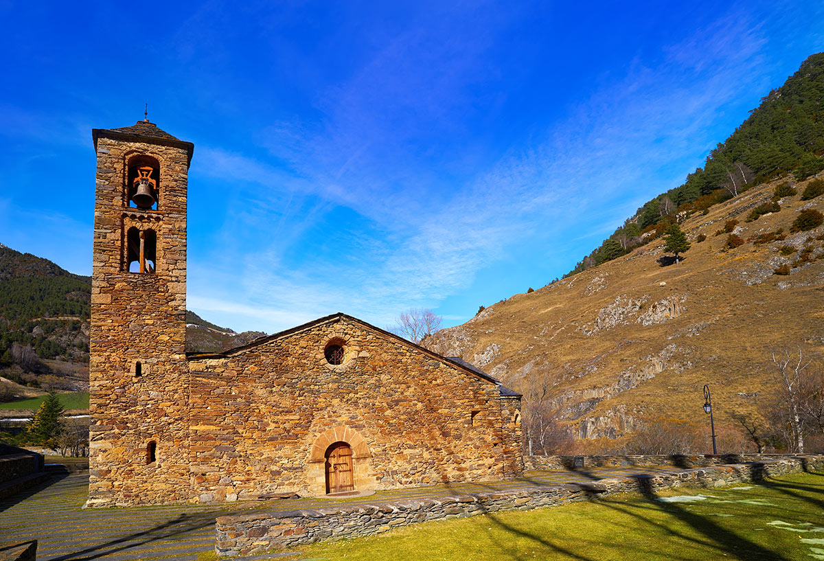 Church of San Martín de la Cortinada de Ordino