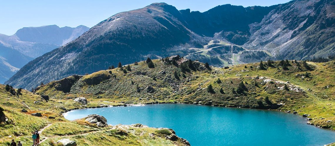 In Andorra, the Three Nations park, the largest natural park in the Pyrenees!